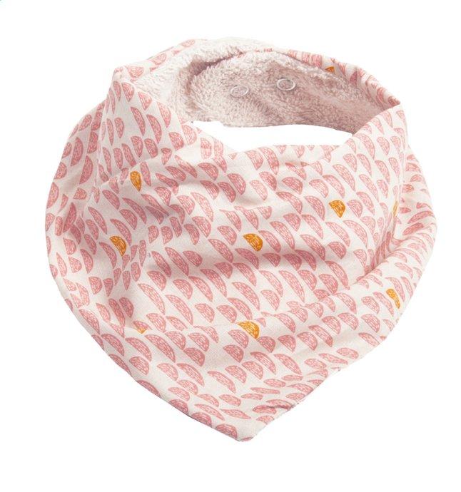 Afbeelding van Trixie Slabbetje/bandana Pebble Pink met drukknoppen from Dreambaby