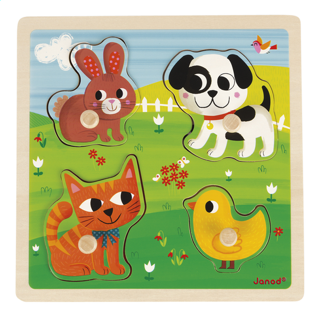 Afbeelding van Janod Puzzel My First Animals from Dreambaby