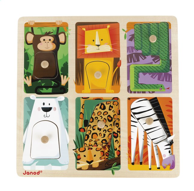 Afbeelding van Janod Puzzel Zoo Animals from Dreambaby