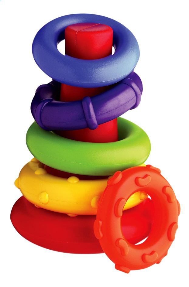 Playgro Stapelringen Sort and Stack Tower