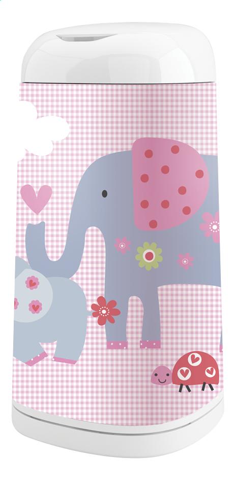 Image pour Angelcare Housse pour poubelle à langes Dress up éléphant à partir de Dreambaby