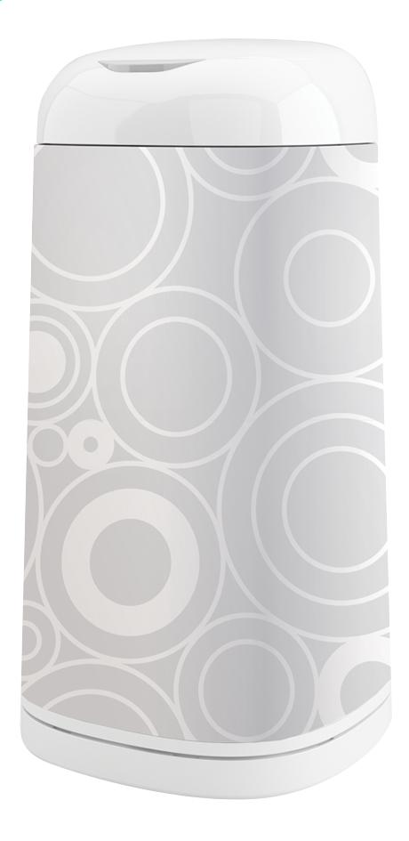 Image pour Angelcare Poubelle à langes avec housse Dress up grey circles à partir de Dreambaby