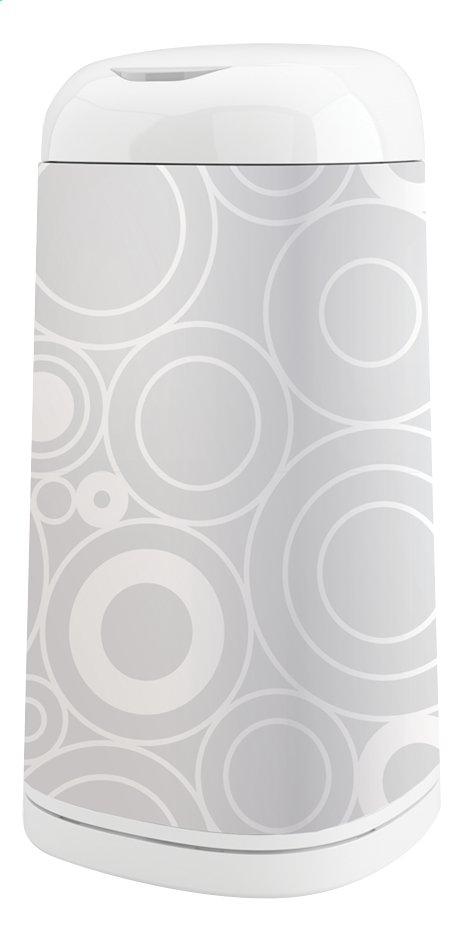 Image pour Angelcare Housse pour poubelle à langes Dress up grey circles à partir de Dreambaby