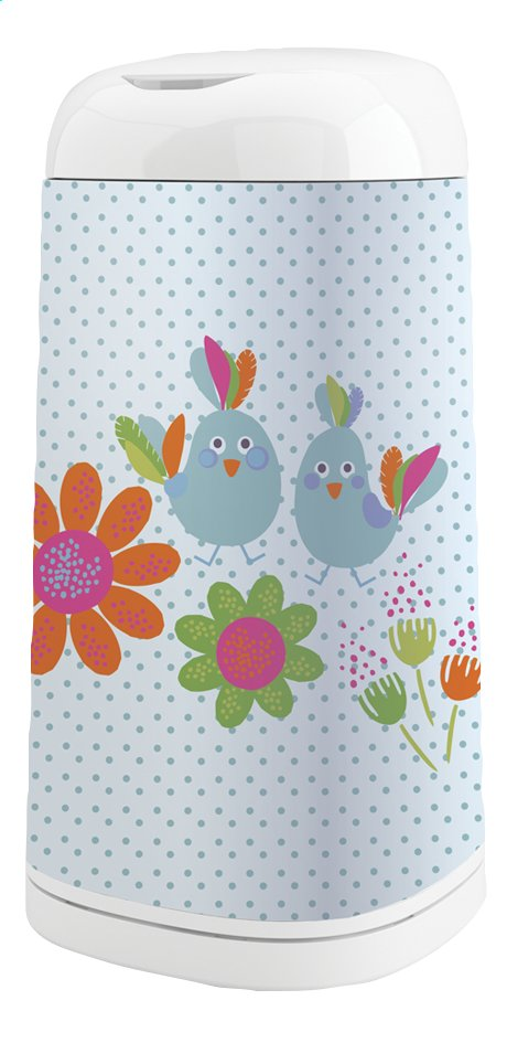 Afbeelding van Angelcare Luieremmer met hoes Dress up oiseaux bleus from Dreambaby
