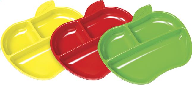 Afbeelding van Munchkin Bord met vakken geel/rood/groen - 3 stuks from Dreambaby