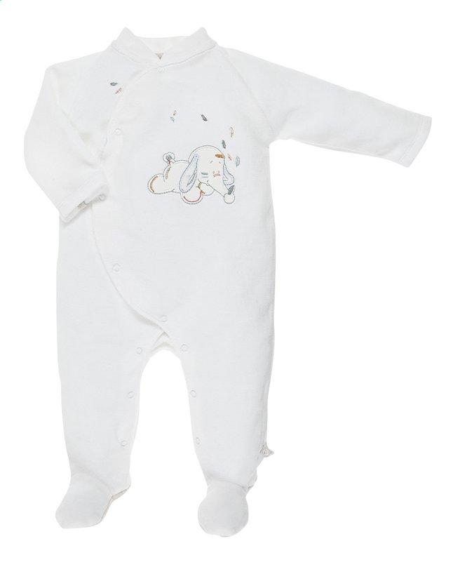 Afbeelding van Noukie's Pyjama Bao & Wapi wit maat 50 from Dreambaby