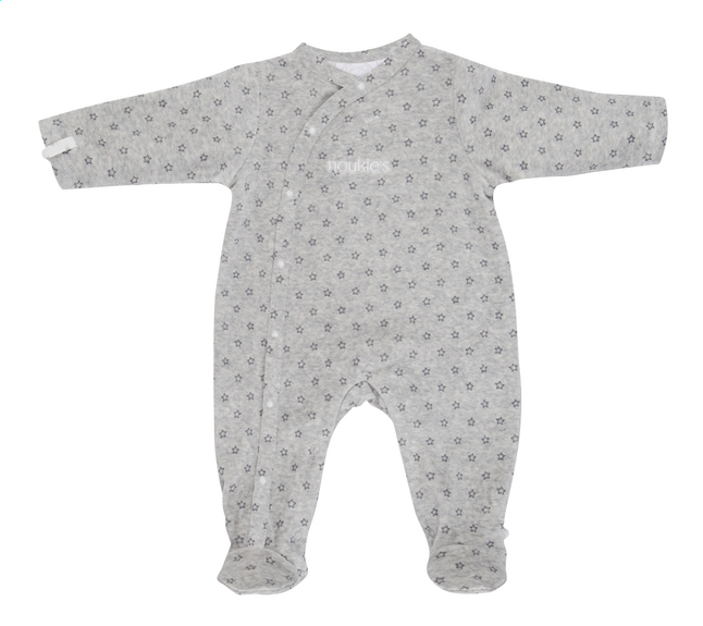 Image pour Noukie's Pyjama Poudre d'Étoiles gris taille 68 à partir de Dreambaby
