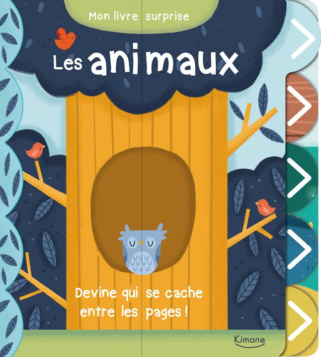 Afbeelding van Babyboek Les Animaux from Dreambaby