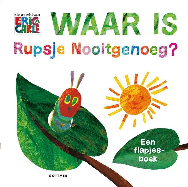 Babyboek Waar is Rupsje Nooitgenoeg?