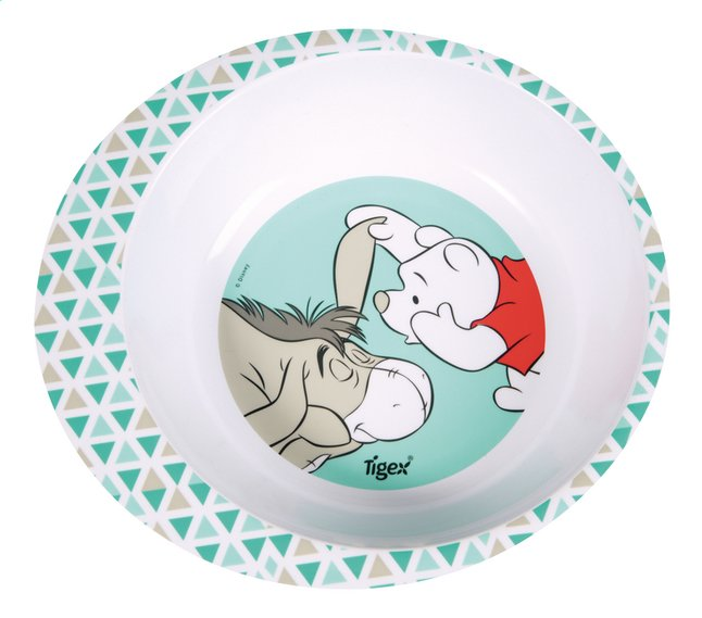 Image pour Tigex Assiette creuse Winnie l'Ourson vert/blanc à partir de Dreambaby