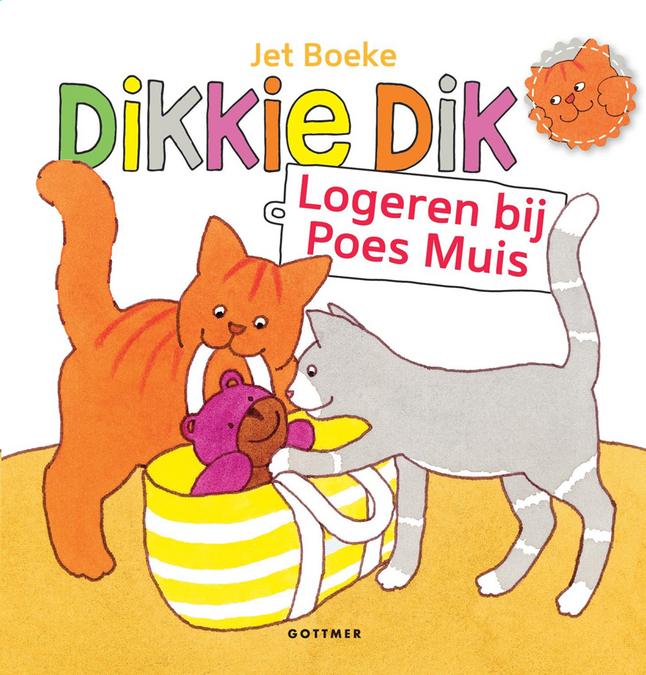 Afbeelding van Babyboek Dikkie Dik Logeren bij Poes Muis from Dreambaby