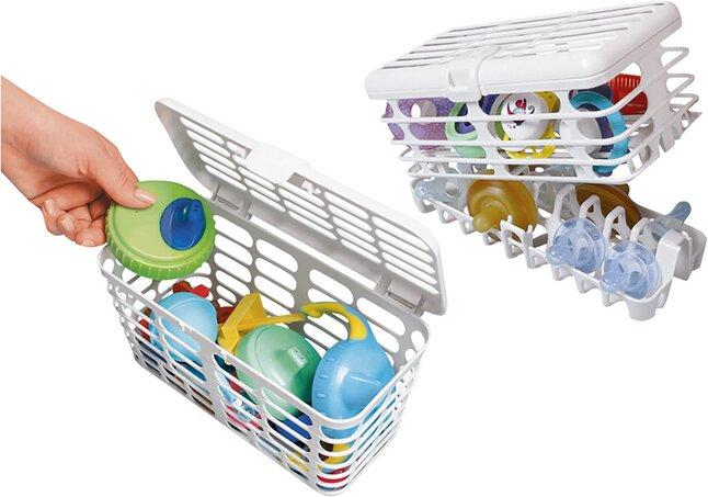 Image pour Prince Lionheart Panier pour le lave-vaisselle - 2 pièces à partir de Dreambaby
