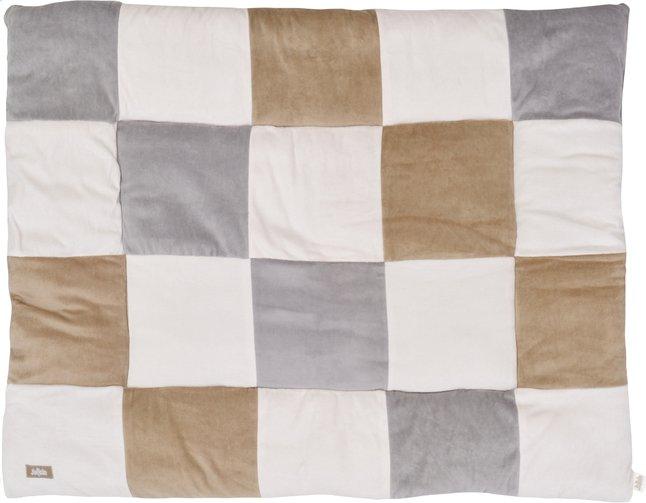 Image pour Jollein Couverture de jeu Block sable/gris à partir de Dreambaby