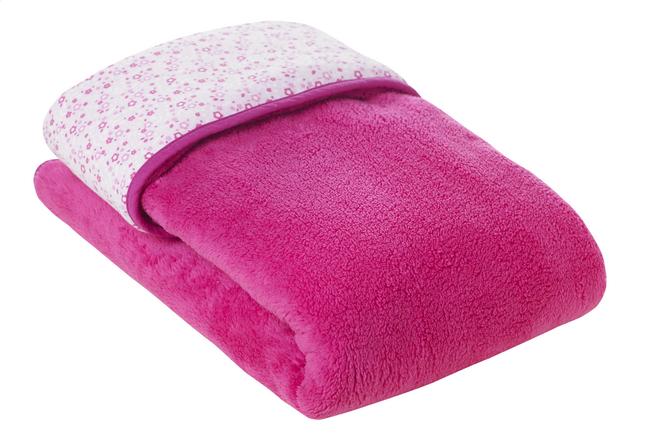 Afbeelding van Bemini Deken/laken voor wieg of park Lizie pompon fleece softy/jersey from Dreambaby