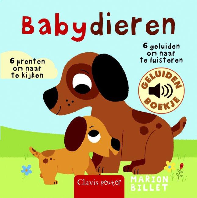 Afbeelding van Geluidenboekje Babydieren - Marion Billiet from Dreambaby