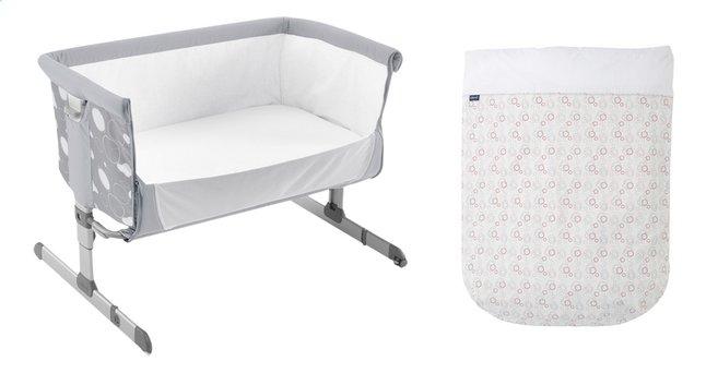 Image pour Chicco Set textile de 4 pièces pour berceau Next2Me Lg 70 x L 105 cm à partir de Dreambaby