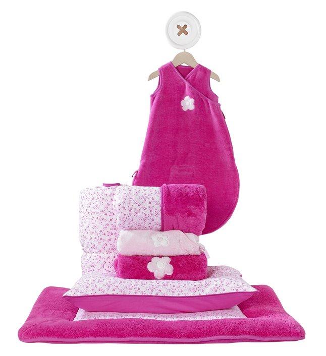 Afbeelding van Bemini Dekbedovertrek voor bed Lizie pompon katoen from Dreambaby