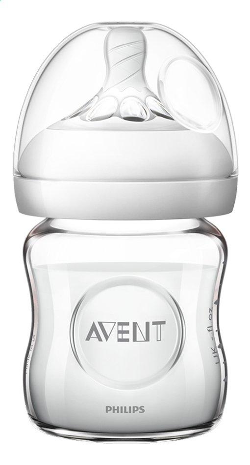 Image pour Philips AVENT Biberon en verre Natural 2.0 transparent 120 ml à partir de Dreambaby