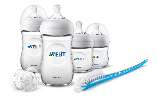 Philips AVENT Starterset Natural 2.0 transparant