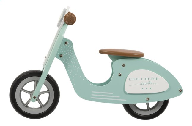 Afbeelding van Little Dutch Houten loopfiets mint from Dreambaby