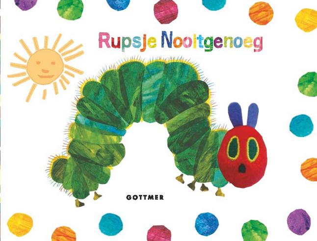 Babyboek Rupsje Nooitgenoeg