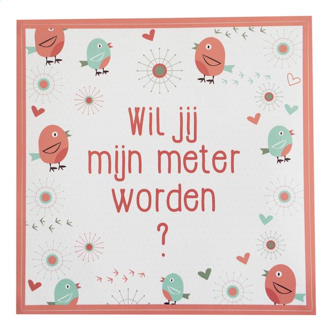 Afbeelding van Minimou Sticker Birdy Wil jij mijn meter worden? from Dreambaby