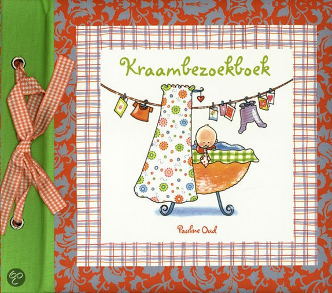 Afbeelding van Kraambezoekboek - Pauline Oud from Dreambaby