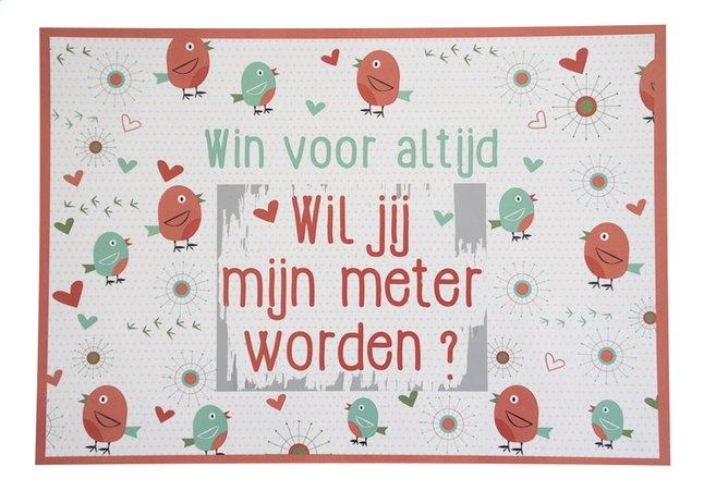 Afbeelding van Minimou Kraskaart Birdy Wil jij mijn meter worden? from Dreambaby
