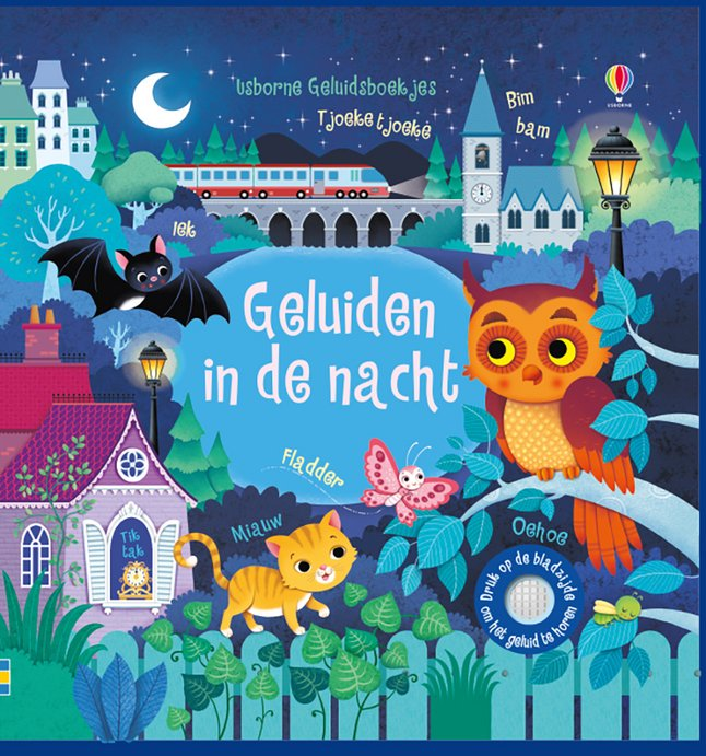 Image pour Livre pour bébé Geluiden in de nacht à partir de Dreambaby
