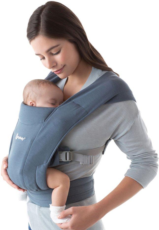 Image pour ERGObaby Porte-bébé ventral Embrace oxford blue à partir de Dreambaby