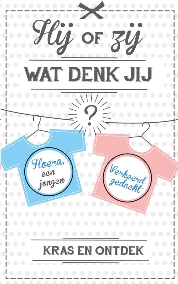 Image pour Minimou Carte à gratter Verklap het geslacht: Hoera, een jongen!  - 10 pièces à partir de Dreambaby