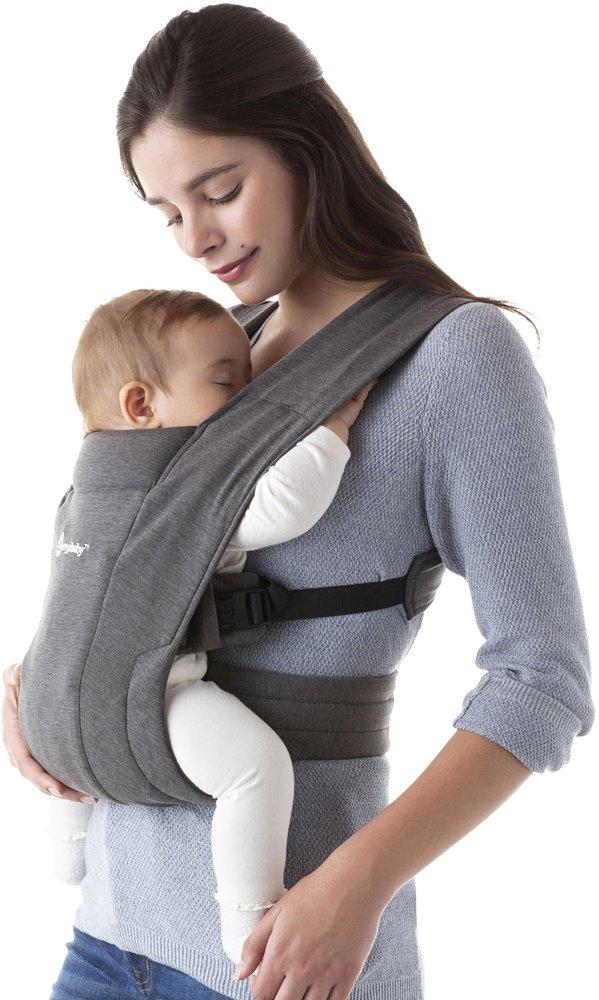 Image pour ERGObaby Porte-bébé ventral Embrace heather grey à partir de Dreambaby