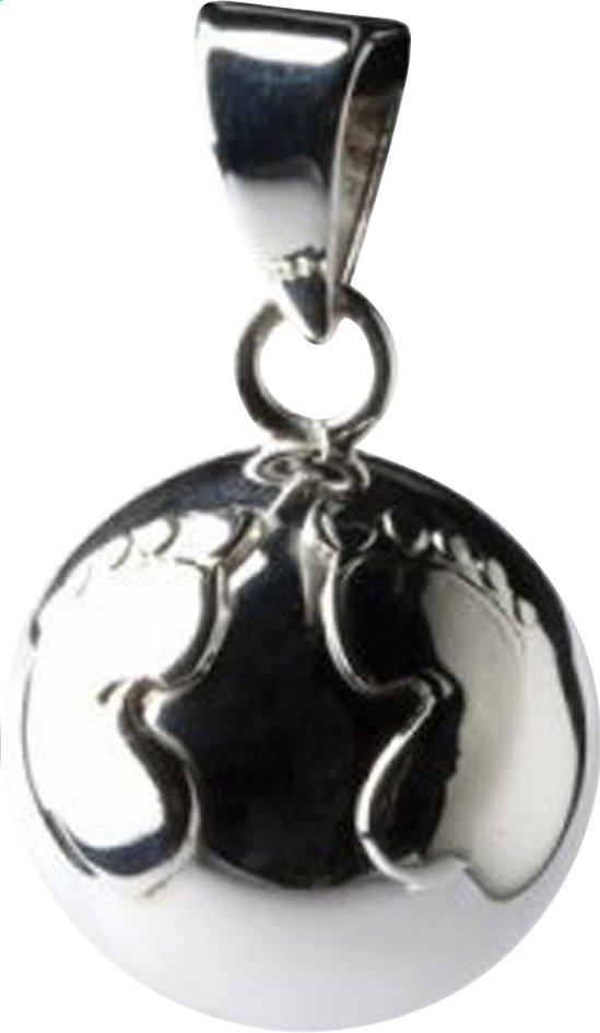 Afbeelding van Babylonia Zwangerschapsbelletje Bola voetje zilver from Dreambaby