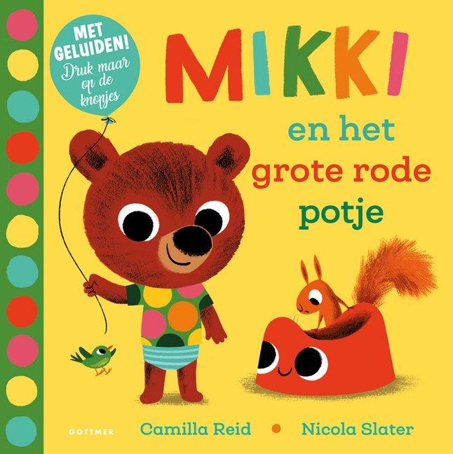 Afbeelding van Babyboek Mikki en het grote rode potje from Dreambaby
