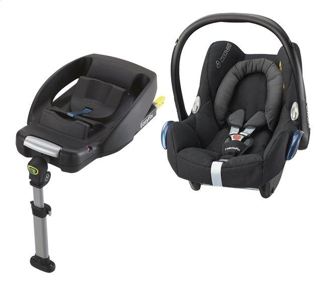 Afbeelding van Maxi-Cosi Draagbare autostoel CabrioFix Groep 0+ black raven + Basis EasyFix from Dreambaby