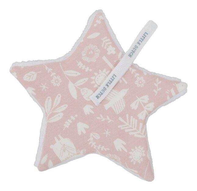 Afbeelding van Little Dutch Fopspeendoekje Adventure Pink from Dreambaby