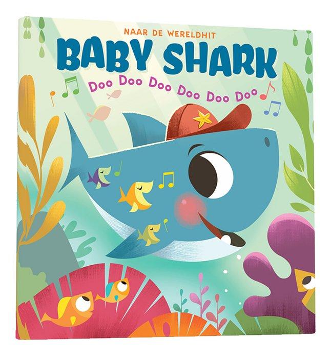 Afbeelding van Babyboek Baby Shark from Dreambaby