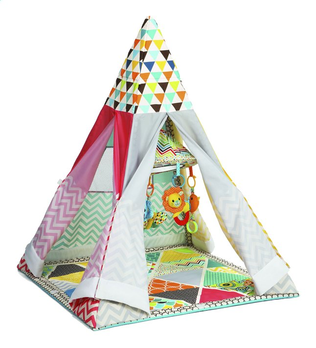 Afbeelding van Infantino Speeltapijt Grow-with-me Playtime Teepee from Dreambaby
