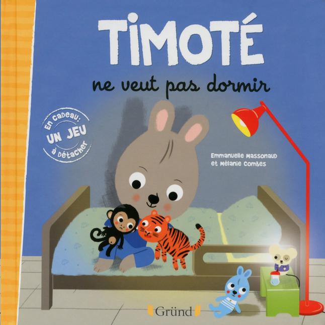 Afbeelding van Boek Timoté ne veut pas dormir - Emmanuelle Massonaud FR from Dreambaby