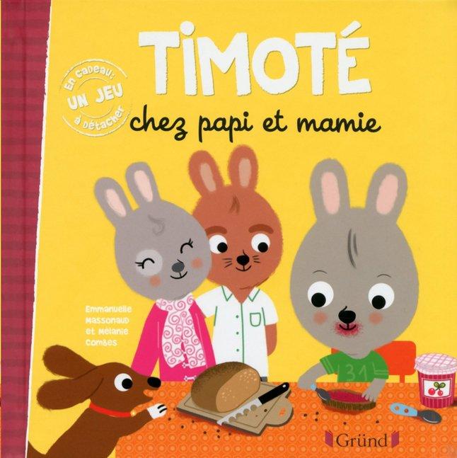 Image pour Livre pour bébé Timoté chez papi et mamie à partir de Dreambaby