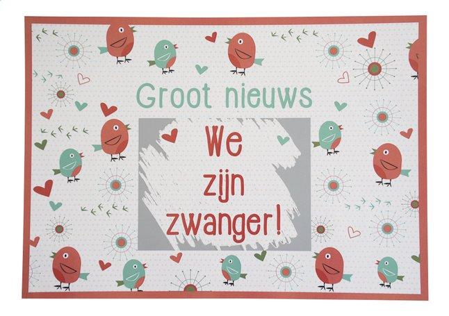 Afbeelding van Minimou Kraskaart Birdy We zijn zwanger! from Dreambaby