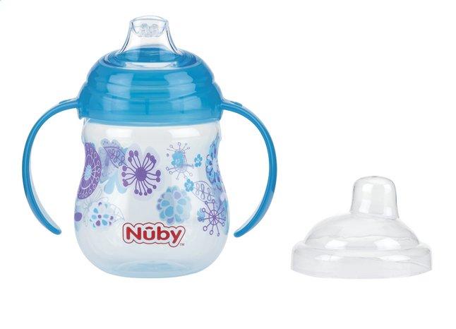 Afbeelding van Nûby Oefenbeker Clik-it Designer 270 ml aqua from Dreambaby