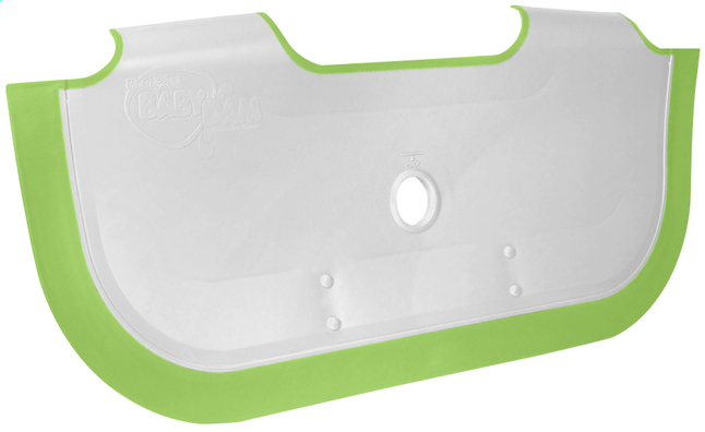 Image pour Baby Dam Réducteur de baignoire blanc/vert menthe à partir de Dreambaby