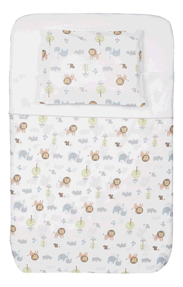 Afbeelding van Chicco 3-delige textielset voor wieg Next2Me Little Animals from Dreambaby