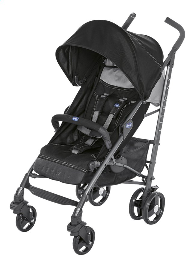 Afbeelding van Chicco Buggy Lite way 3 jet black from Dreambaby