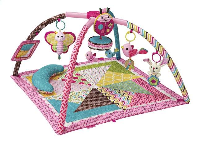 Afbeelding van Infantino Speeltapijt Deluxe Twist & Fold Gym & Play roze from Dreambaby