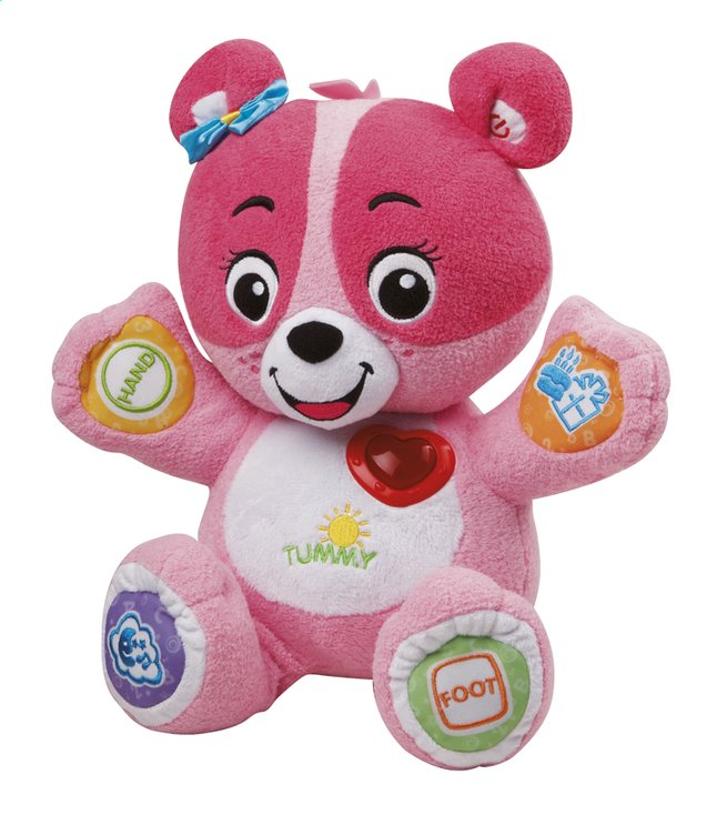 Afbeelding van VTech Nina Mon ourson à personnaliser rose FR from Dreambaby