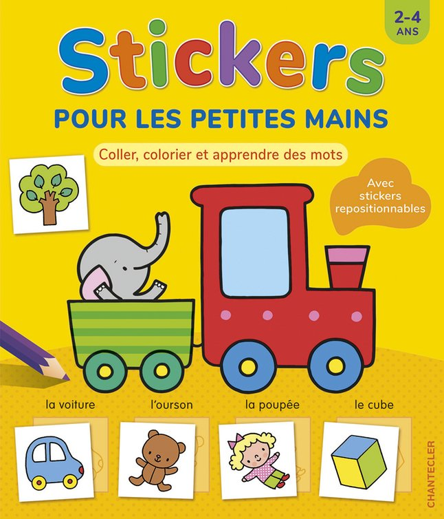 Chantecler Babyboek Stickers pour les petites mains