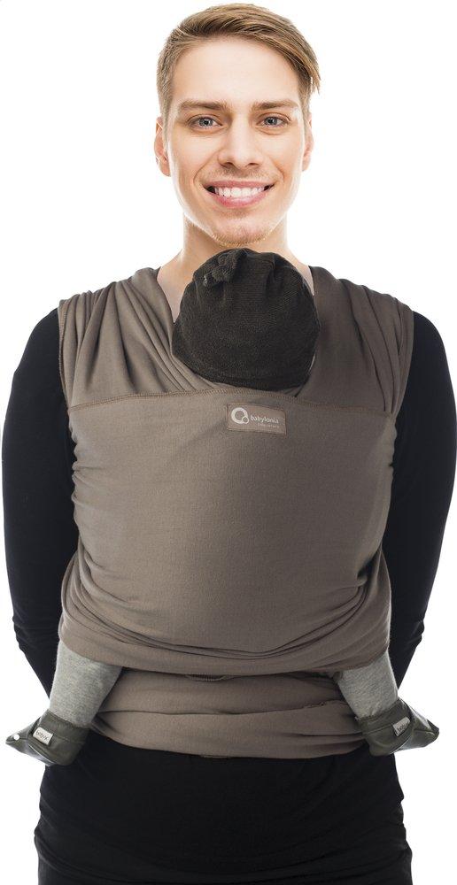 Image pour Babylonia Écharpe de portage extensible Tricot-Slen taupe à partir de Dreambaby