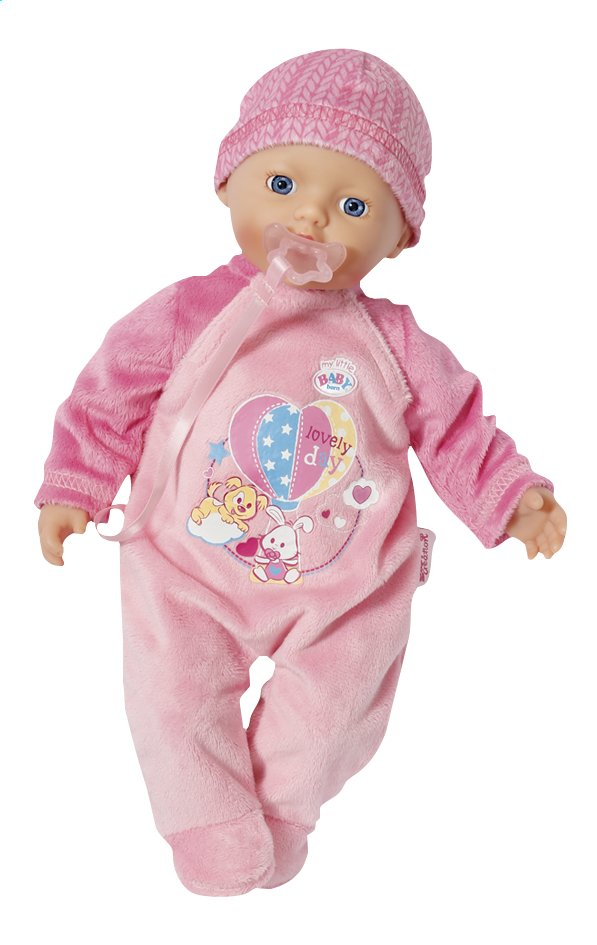 Afbeelding van Zapf Creation Zachte pop my little BABY born supersoft pink from Dreambaby